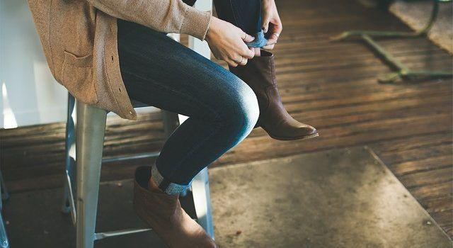 Schoenen maken de man.. of vrouw in dit geval